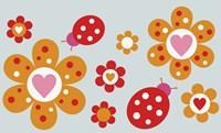Ladybird Flowers Fine-Art Print