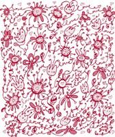 Playful Pink Flowers Fine-Art Print
