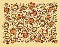 Smiling Sunflowers Fine-Art Print