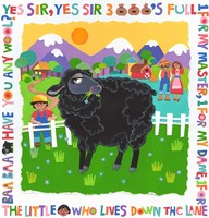 Bah Bah Black Sheep Fine-Art Print