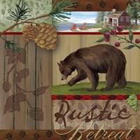 Rustic Retreat I Fine-Art Print