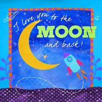 To The Moon Fine-Art Print