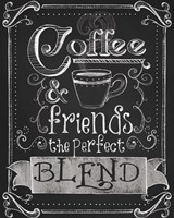 Coffee & Friends Fine-Art Print