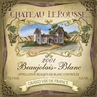 Chateau Le Rousse Fine-Art Print
