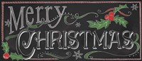 Chalk Merry Fine-Art Print