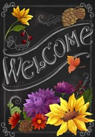 Chalkboard Welcome Fine-Art Print
