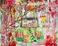 Love Resides Here Fine-Art Print