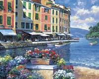 Reflections Of Portofino Fine-Art Print