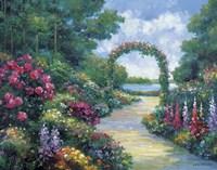 Lakeside Arbor Fine-Art Print
