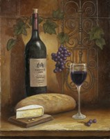 Wine And Cheese A Fine-Art Print