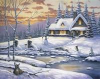 Winter Retreat Fine-Art Print