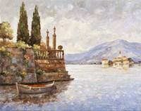 Evening Light On Lake Como Fine-Art Print