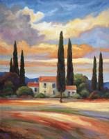 Sunset In Provence Fine-Art Print