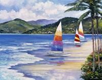 Seaside Sails Fine-Art Print