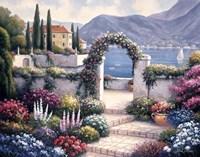 Mediterranean Scene A Fine-Art Print