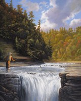 Fishing Fine-Art Print