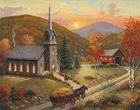 Autumn In Vermont Fine-Art Print