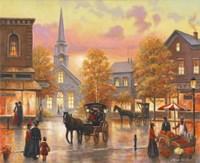 Autumnal Breeze In Pleasantville Fine-Art Print