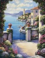 Mediterranian Patio Fine-Art Print