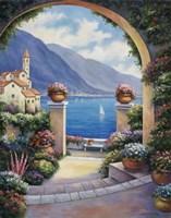 Mediterranian Archway Fine-Art Print