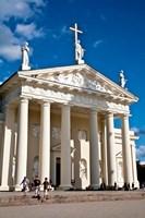 Arch-Cathedral Basilica, Vilnius, Lithuania I Framed Print