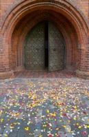 Flower petals, St Anne's Church, Vilnius, Lithuania Fine-Art Print