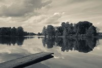 Lake Galve, Trakai Historical National Park, Lithuania V Fine-Art Print