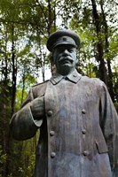 Lithuania, Grutas Park, Statue Joseph Stalin III Fine-Art Print