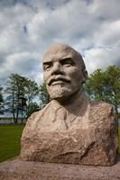 Lithuania, Grutas Park, Statue of Lenin I Fine-Art Print