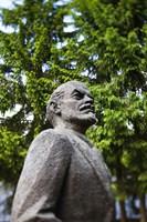 Lithuania, Grutas Park, Statue of Lenin II Fine-Art Print