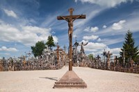 Lithuania, Siauliai, Hill of Crosses, Christianity I Fine-Art Print
