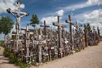 Lithuania, Siauliai, Hill of Crosses, Christianity III Fine-Art Print