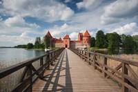 Lithuania, Trakai Historical NP, Island Castle Fine-Art Print