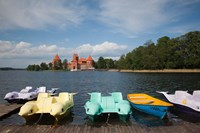 Lithuania, Trakai Historical NP, Lake Galve Fine-Art Print