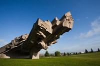 Ninth Fort Monument, Kaunas, Central Lithuania, Lithuania Fine-Art Print