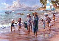 On The Beach Fine-Art Print