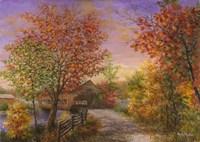 Autumn's Color Of Fashion Fine-Art Print