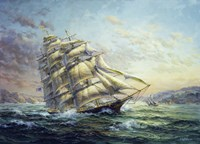 Clipper Ship Surprise Fine-Art Print