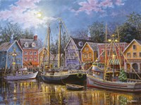 Ships Aglow Fine-Art Print