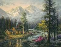 Camper's Cabin Fine-Art Print