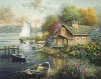 Peaceful Mooring Fine-Art Print