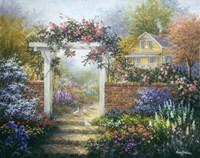 Rose Arbor Fine-Art Print