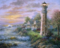 Lighthouse Haven II Fine-Art Print