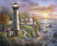 Lighthouse Haven Fine-Art Print