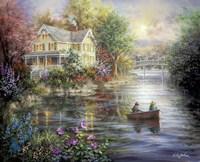 Evening Reflections Fine-Art Print