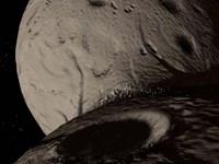Trojan Asteroid Hektor Fine-Art Print