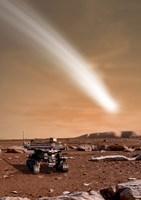 Comet C/2013 A1 over Mars Fine-Art Print