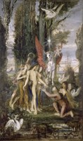 Hesiod And The Muses, 1860 Fine-Art Print