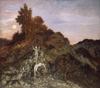 The Death Of Orpheus, 1890 Fine-Art Print