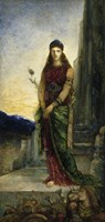 Helen On The Walls Of Troy, With Two Figures At Her Feet Fine-Art Print